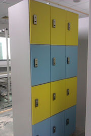 Yellow / Blue 4 Layer Strong IOT Locker Odour Resistant For Hospitals